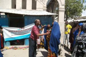 Distribution of 1000 Blankets to Baidoa Mental Hospital